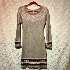 ATHLETA Fair Isle Sweater dress , XS
